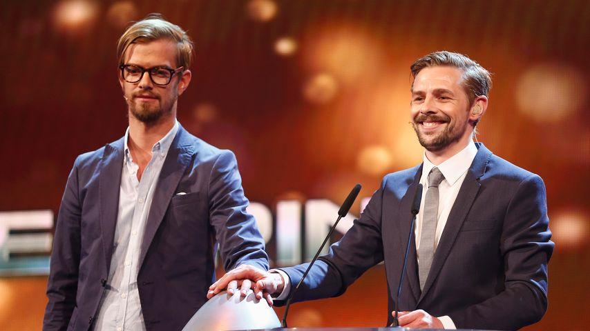 Joko Winterscheidt und Klaas Heufer-Umlauf beim deutschen Comedy-Preis 2014