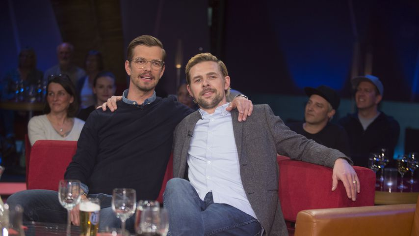 Joko Winterscheidt und Klaas Heufer-Umlauf in der NDR-Talkshow