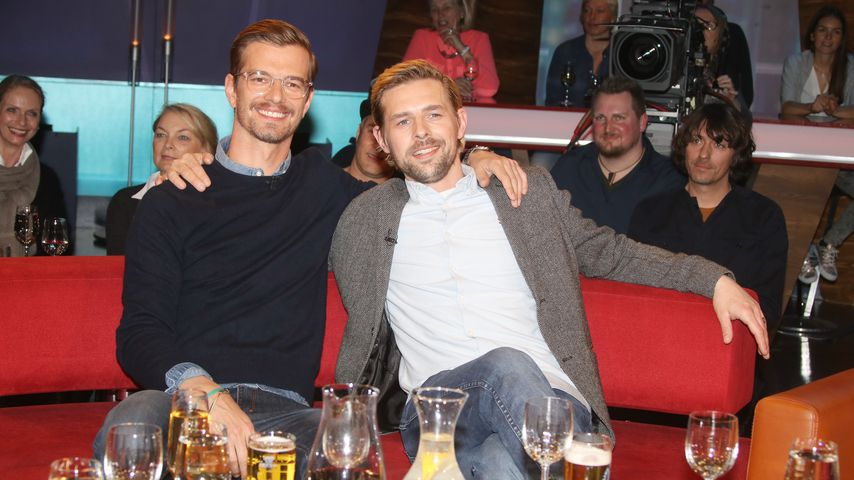 Joko Winterscheidt und Klaas Heufer-Umlauf in der NDR Talkshow 2017