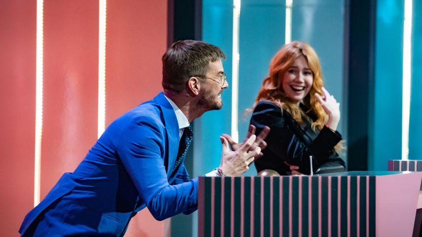 """Joko Winterscheidt und Palina Rojinski bei """"Wer stiehlt mir die Show?"""""""