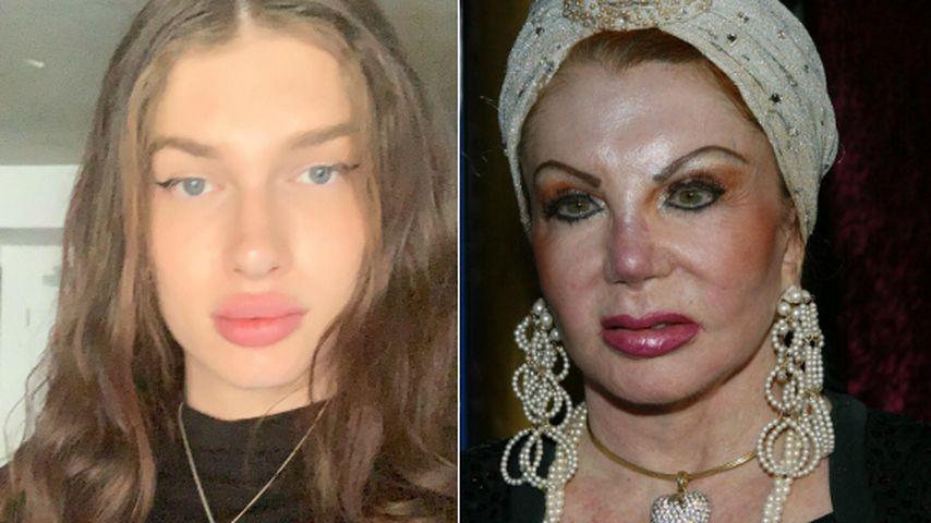 Transgender-Frau (23) will aussehen wie Jackie Stallone (97)