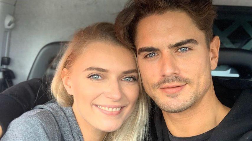 Endlich im Liebesnest: Jolina & Dominik sind zusammengezogen