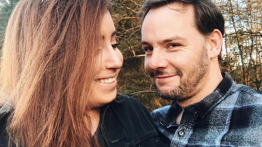 YouTube-Star Jolina Mennen mit ihrem Mann Florian