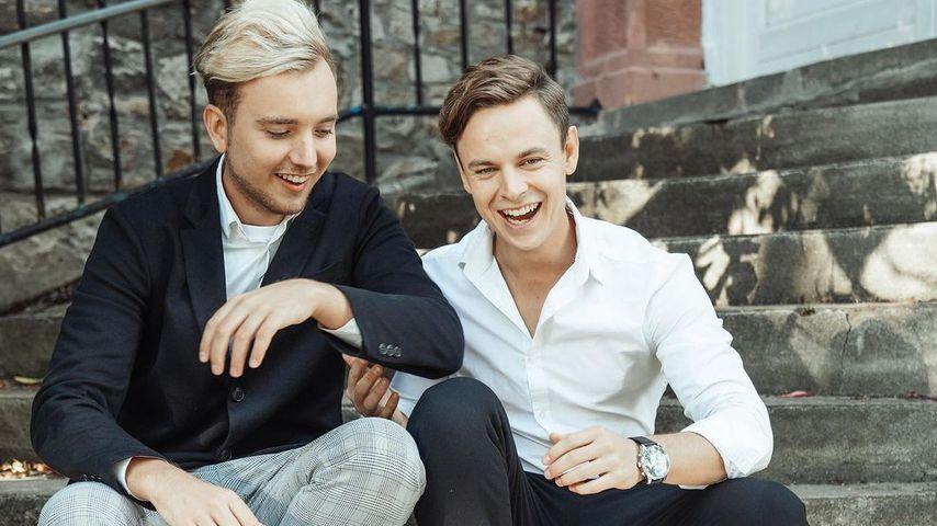 Jonas Wuttke und Loris Zimmerli in Berlin Sommer 2020