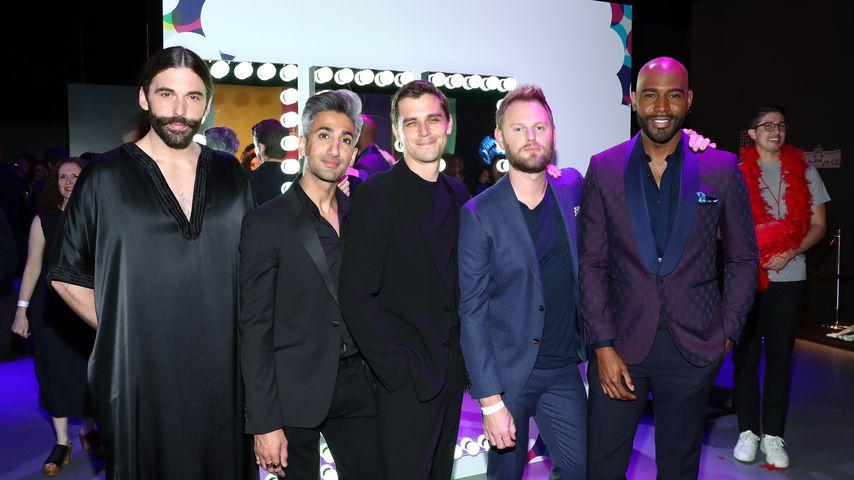 "Jonathan Van Ness, Tan France, Antoni Porowski, Bobby Berk und Karamo Brown von ""Queer Eye"""