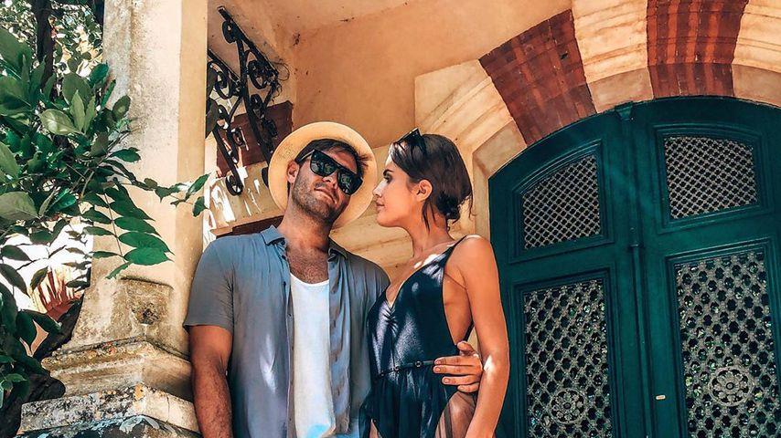 Jonny Mitchell und Danielle Zarb-Cousin, Juli 2019