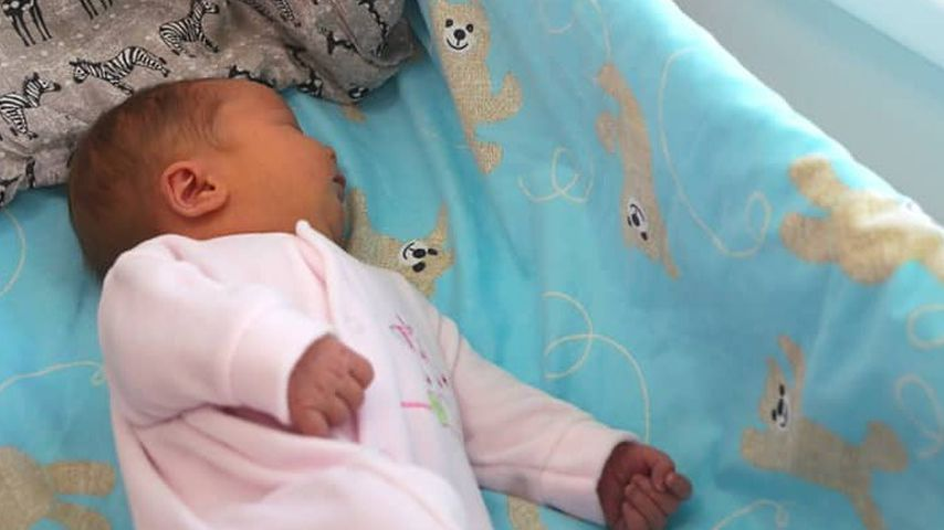 Joonas Suotamos Töchterchen im Februar 2020