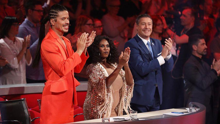 "Jorge Gonzalez, Motsi Mabuse und Joachim Llambi bei der sechsten ""Let's Dance""-Folge"
