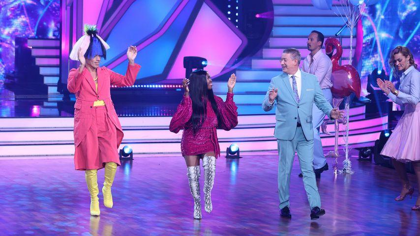 "Jorge Gonzalez, Motsi Mabuse und Joachim Llambi bei ""Let's Dance – Kids"""