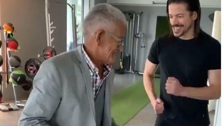 Jorge Gonzalez und sein Vater Gudelio