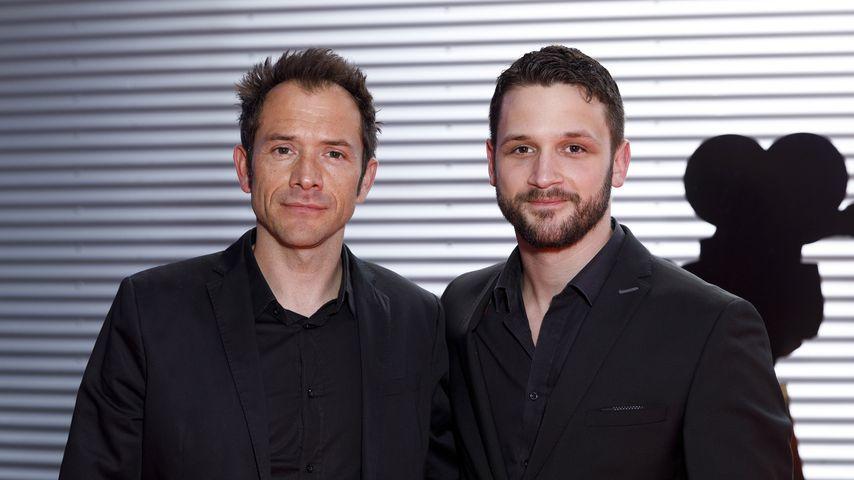 Joris Gratwohl und Arne Rudolf bei der Verleihung des 29. Deutscher Kamerapreises