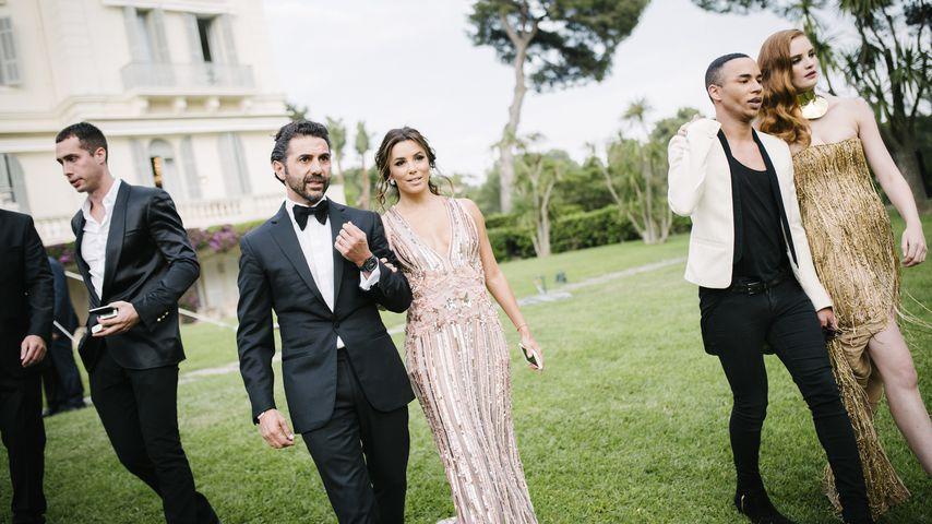 José Antonio Bastón und Eva Longoria auf dem Filmfestival in Cannes