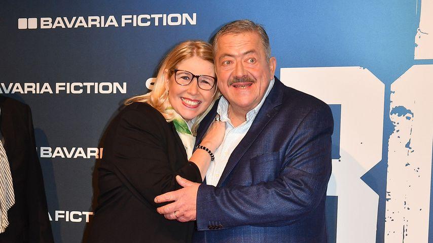 Joseph Hannesschläger mit seiner Frau Bettina