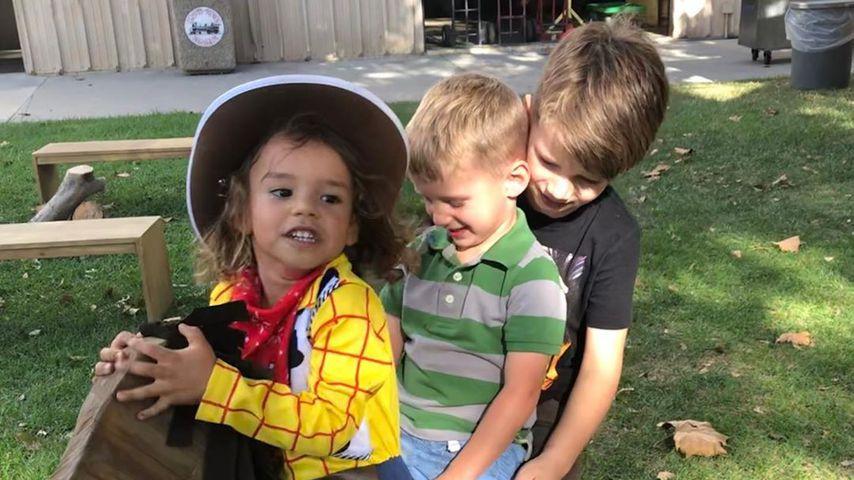Josey Hollis Dorsey, Naya Riveras Sohn; Owen Barlett und Elijah Hubbell, Heather Morris Söhne