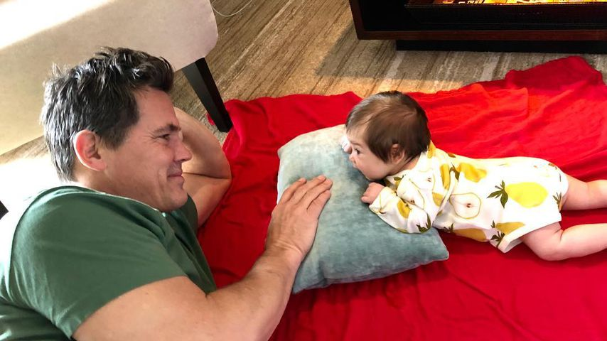 """Josh Brolin mit seiner Tochter Westlyn Reign """"Bean"""" Brolin"""