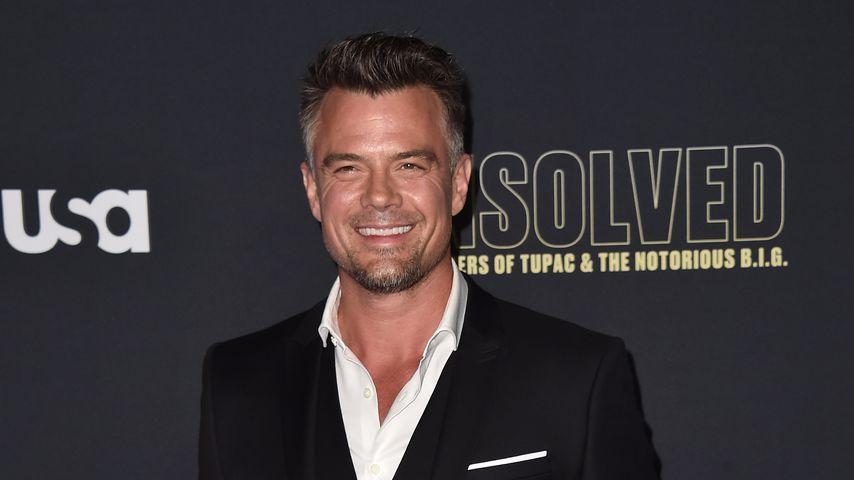 Josh Duhamel bei einer Premierenfeier in Hollywood
