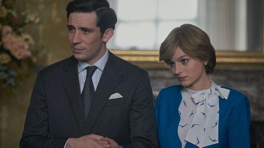 """Josh O'Connor und Emma Corrin in """"The Crown"""""""