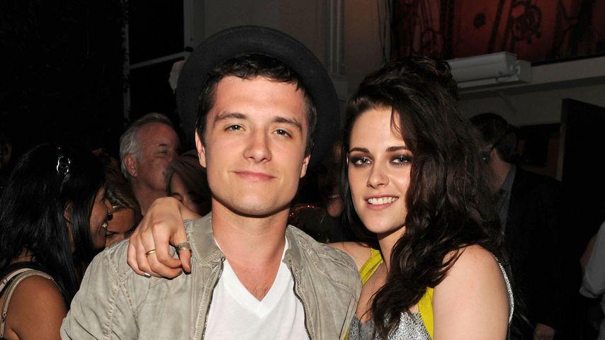 Am Set: Josh Hutcherson war mal in Kristen Stewart verknallt