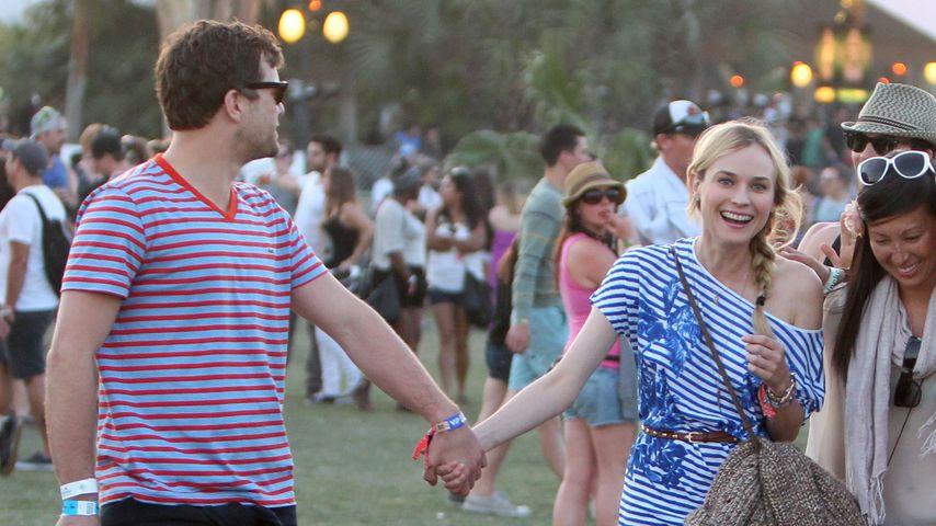 Joshua Jackson und Diane Kruger beim Coachella-Festival 2012