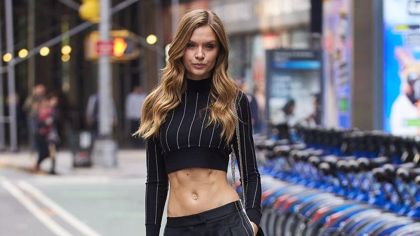 Josephine Skriver in NYC