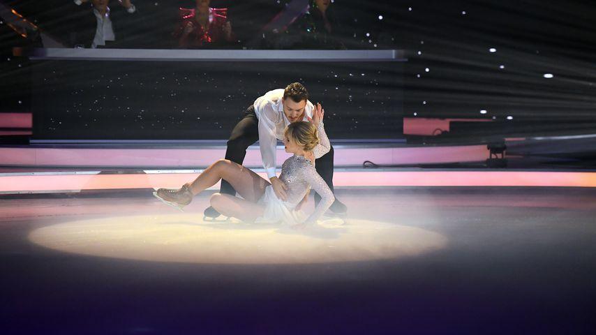 """""""Dancing on Ice""""-Sturz: Darum stand Lina gleich wieder auf"""