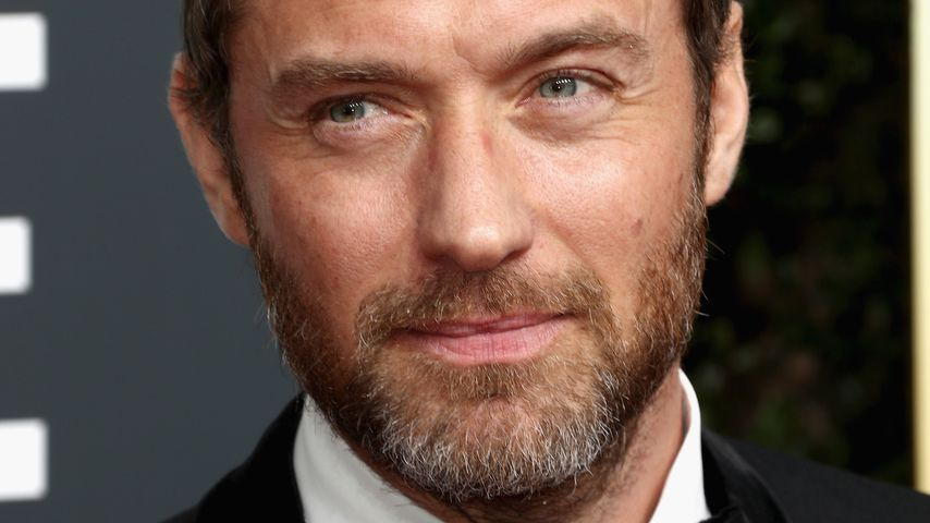 "Jude Law bei den ""Golden Globe Awards"" 2018"