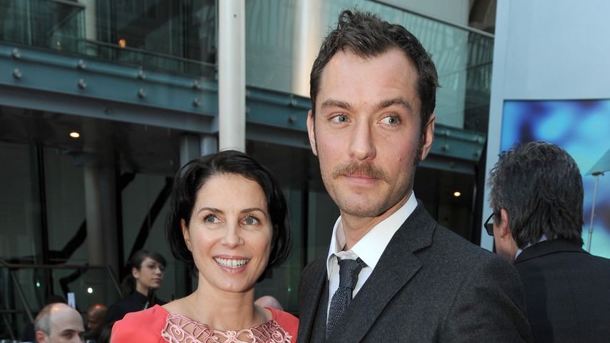 Jude Law und Sadie Frost bei den Evening Standard Drama Awards in London