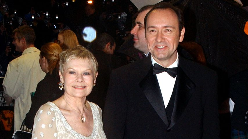 Judi Dench und Kevin Spacey, British Academy Film Awards 2002