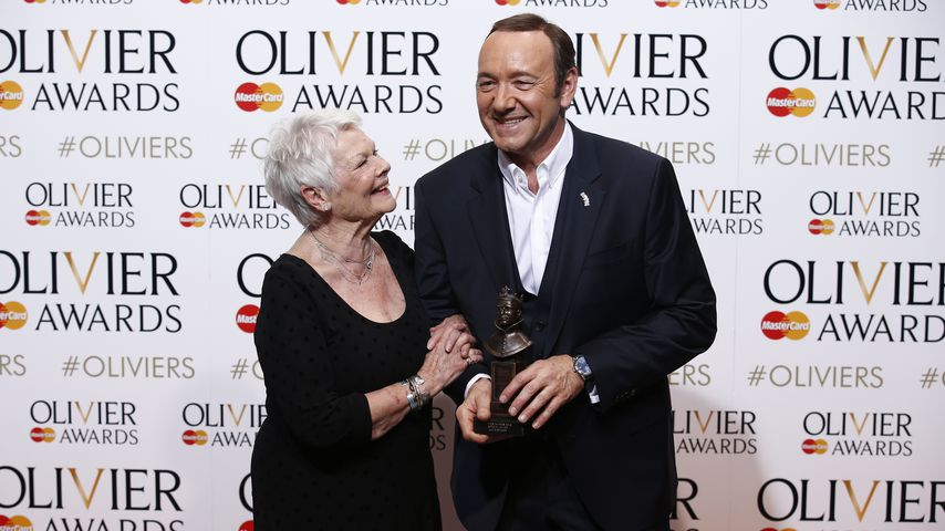 Judi Dench und Kevin Spacey im April 2015