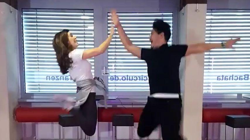 """Judith Williams und Erich Klann im """"Let's Dance""""-Tanztraining"""