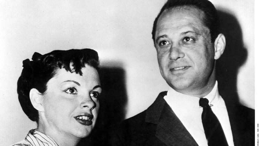 Judy Garland mit ihrem Ehemann Sid Luft 1952