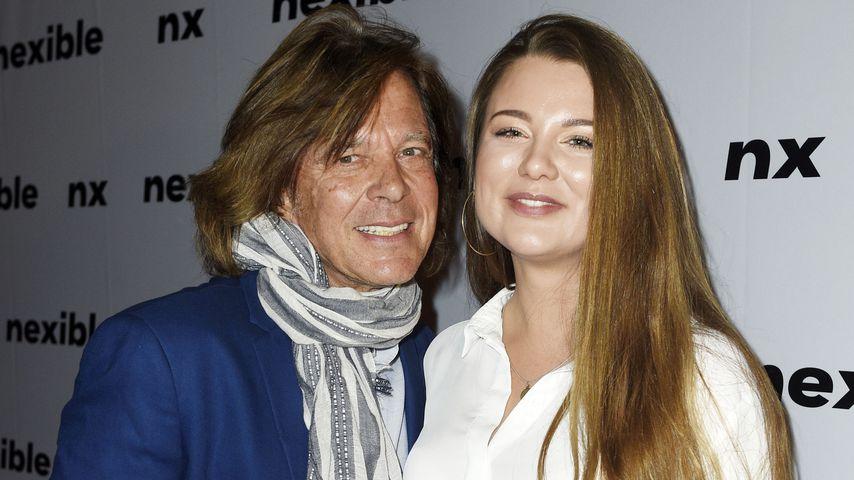 Jürgen Drews und seine Tochter Joelina, Oktober 2018
