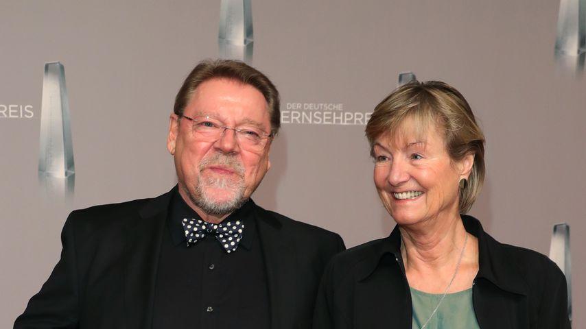 Jürgen von der Lippe mit seiner Partnerin Anne Dohrenkamp