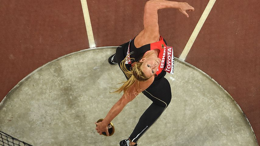 Julia Fischer bei den IAAF World Championships in Peking 2015