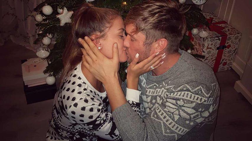 Julia Prokopy und Nico Schwanz an Weihnachten 2019