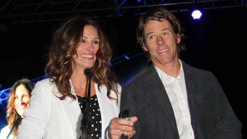 Julia Roberts und Danny Moder in Santa Monica, 2012