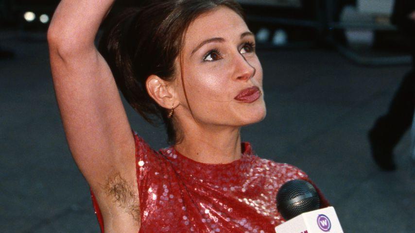 Julia Roberts' ikonisches Achselhaar-Statement war Versehen