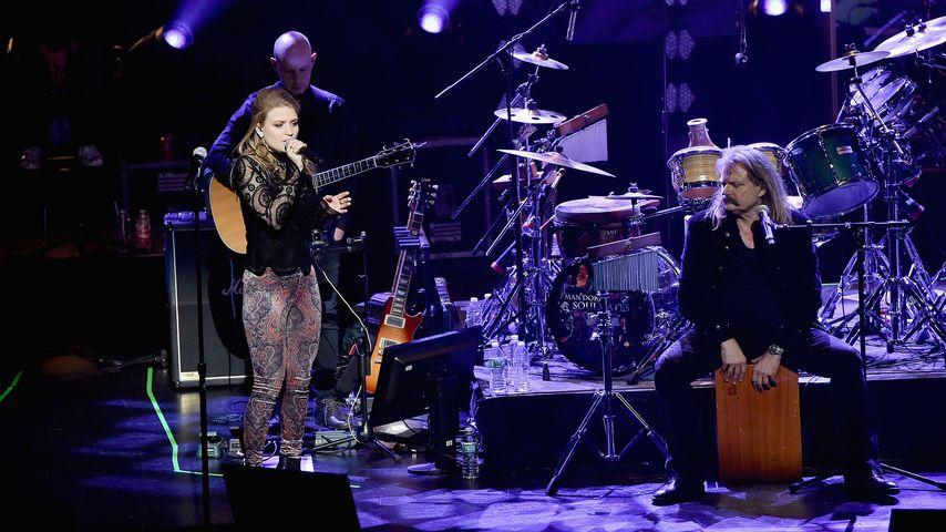 """Julia und Leslie Mandoki beim """"Wings Of Freedom""""-Konzert"""