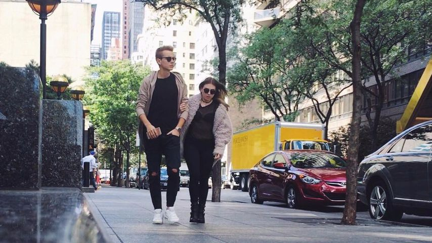 Julian Claßen und Bibi Heinicke in New York