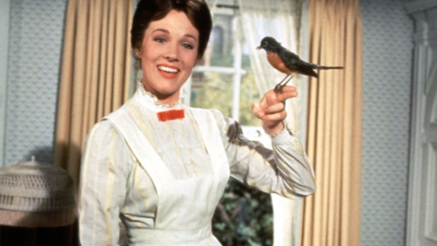 Julie Andrews als Mary Poppins 1964