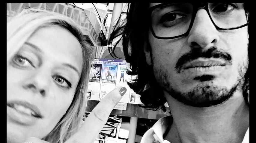 Juliette und Salvatore Greco im Kino