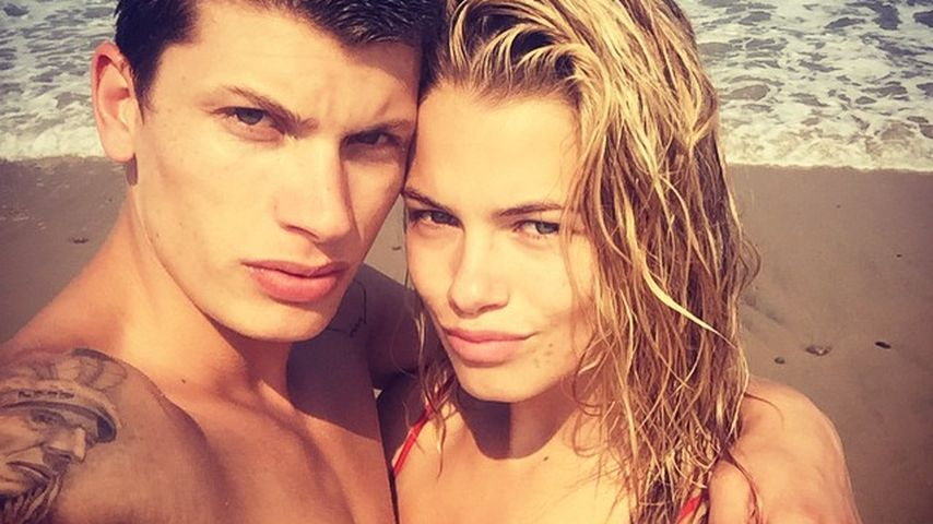 Jullien Herrera und Hailey Clauson in Cape Cod