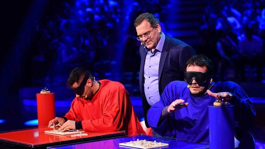 """Jup, Elton und Steffen Hennsler bei """"Schlag den Henssler"""""""