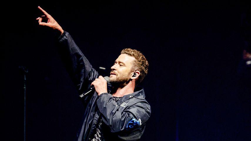 Justin Timberlake in Amsterdam