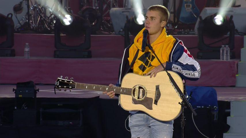 Manchester-Konzert: Justin Bieber bricht fast in Tränen aus!