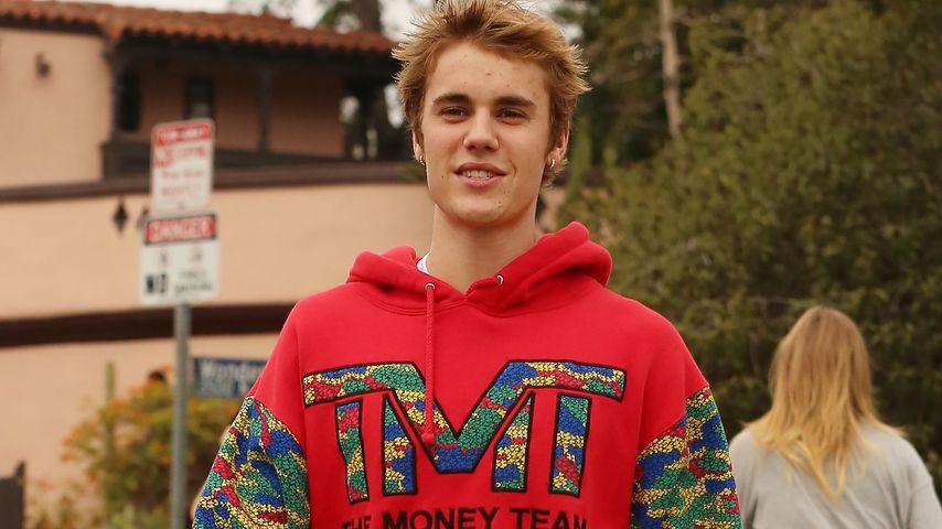 Justin Bieber nach dem Wandern in Los Angeles
