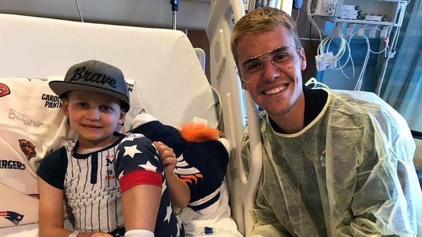 Klinik-Überraschung! Justin Bieber besucht kranke Fans