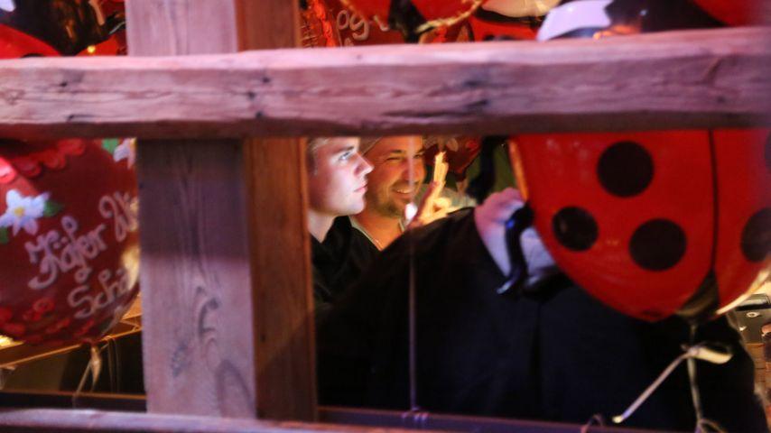Justin Bieber im Käfer-Zelt auf dem Oktoberfest in München