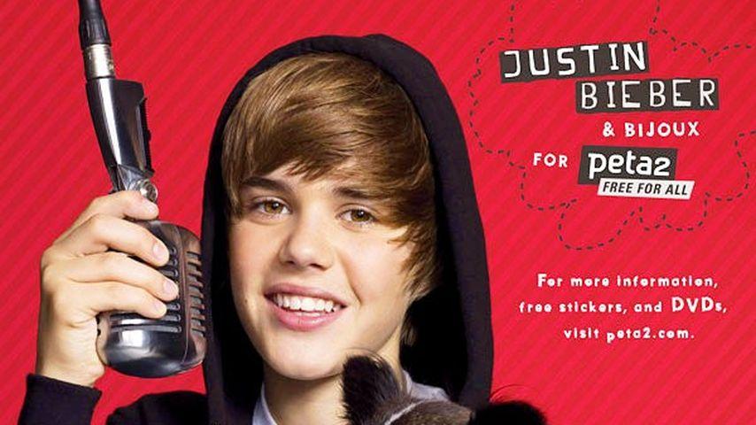 "Justin Bieber: ""Tierisch"" engagiert"