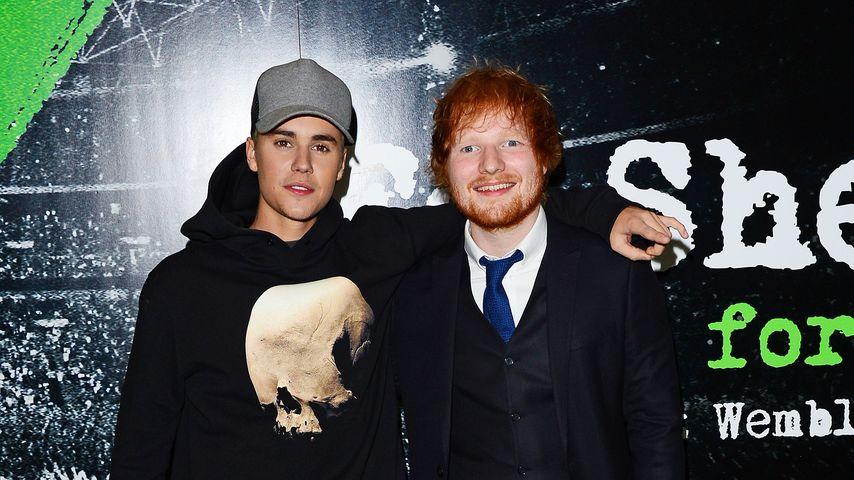 Bromance? Justin Bieber & Ed Sheeran machen gemeinsame Sache